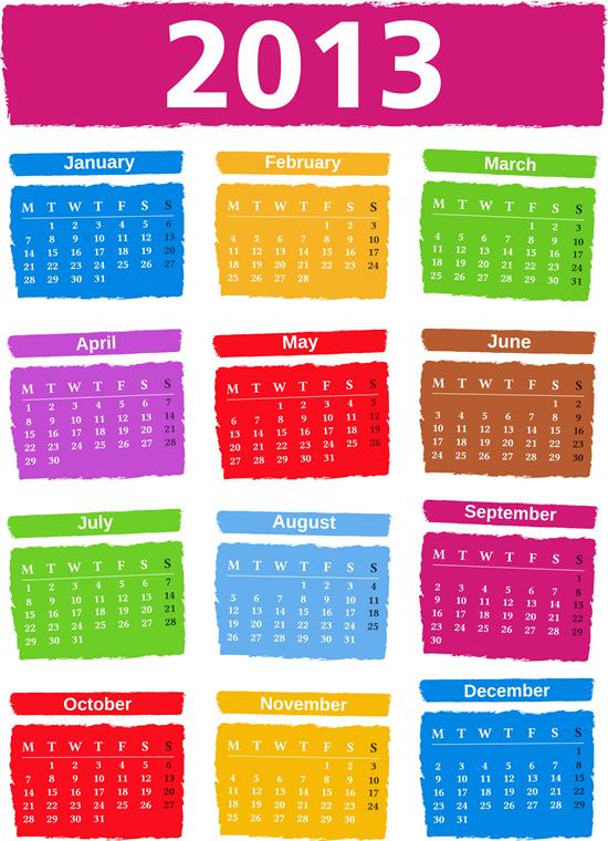 Calendar Grid 2013 85