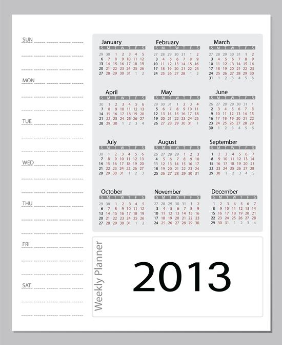 Calendar Grid 2013 87