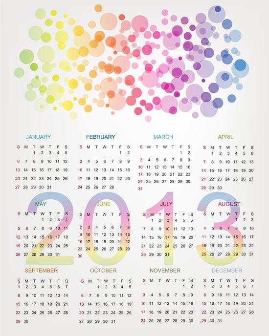Calendar Grid 2013 88