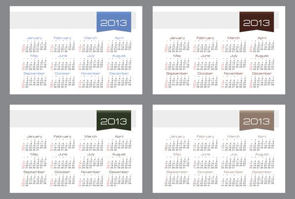 Calendar Grid 2013 90
