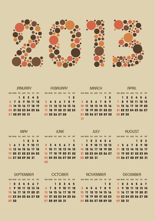 Calendar Grid 2013 99