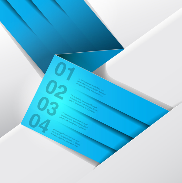 Creative Paper Card Templates 13
