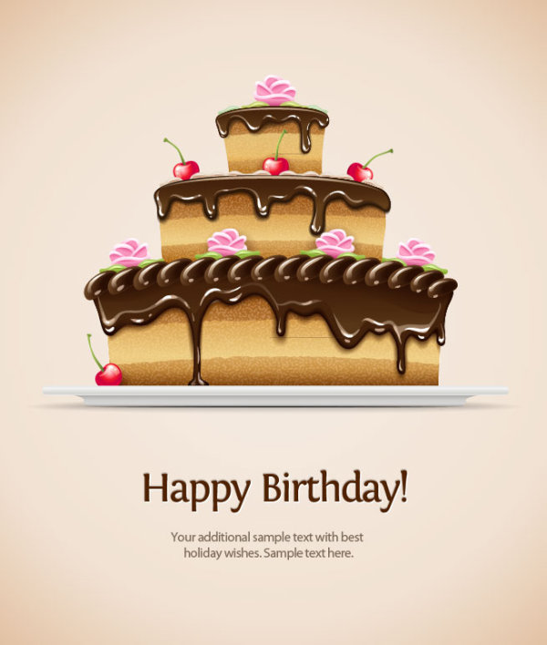 Happy Birthday 4 Free Vector Graphic Download