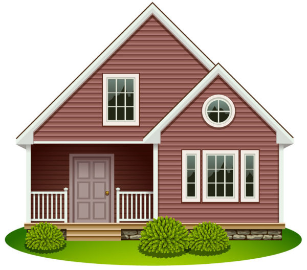 House free vector graphic download Free house design