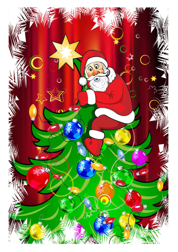 Santa Claus Greeting Cards 11