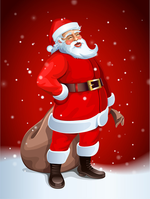 Santa Claus Greeting Cards 12