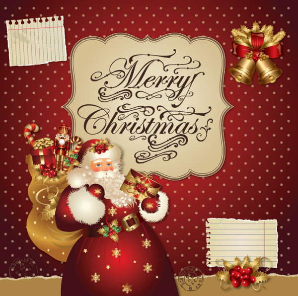 Santa Claus Greeting Cards 5