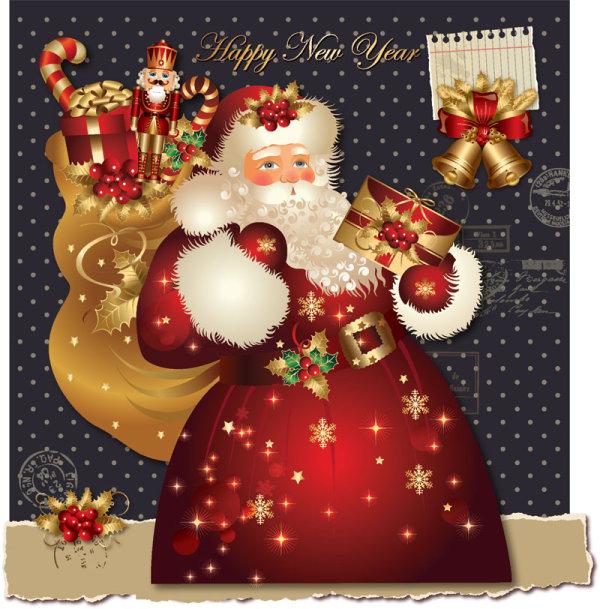 Santa Claus Greeting Cards 6