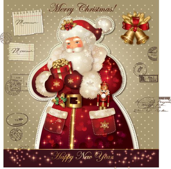 Santa Claus Greeting Cards 7