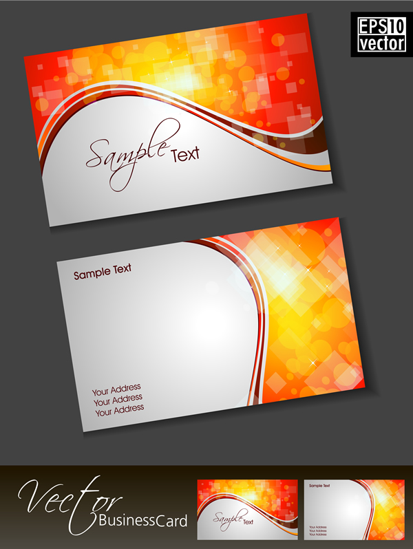 Business card 18 free vector graphic download for Business card background vector