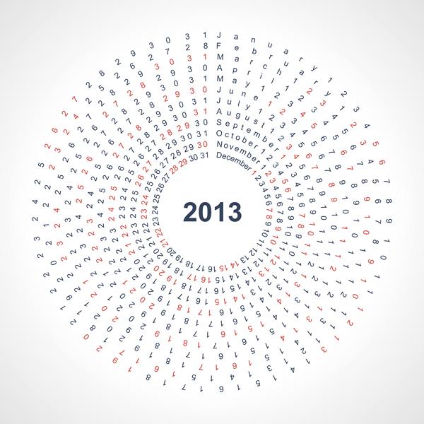 Calendar Grid 2013 122