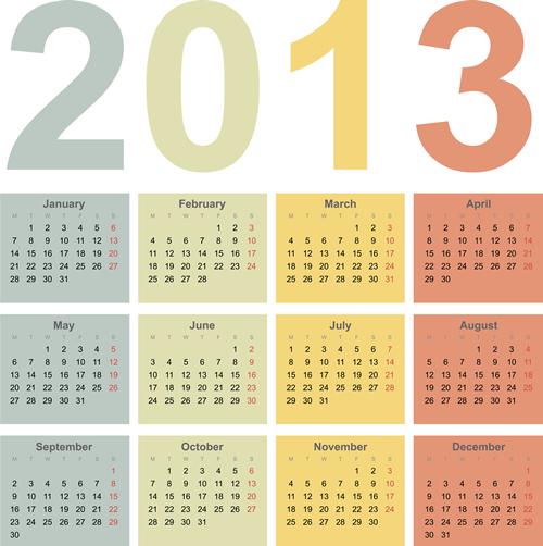 Calendar Grid 2013 124