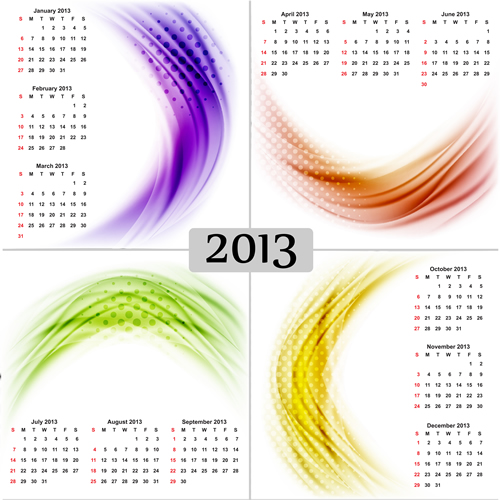 Calendar Grid 2013 126
