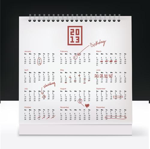 Calendar Grid 2013 130