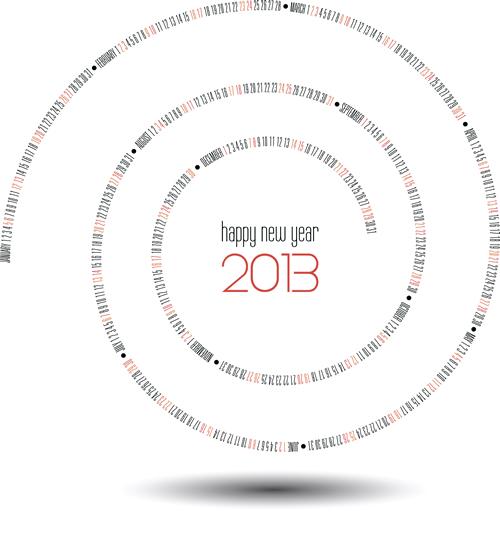 Calendar Grid 2013 132