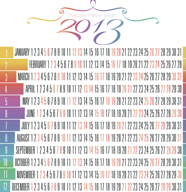 Calendar Grid 2013 133