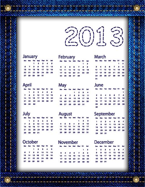 Calendar Grid 2013 136