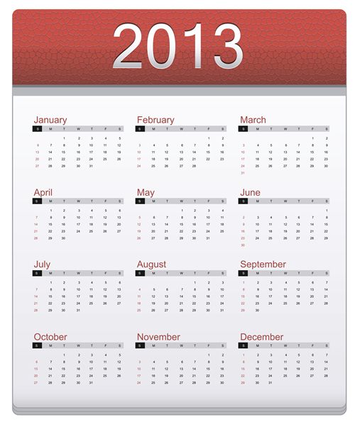 Calendar Grid 2013 137