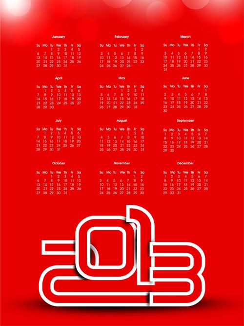 Calendar Grid 2013 140