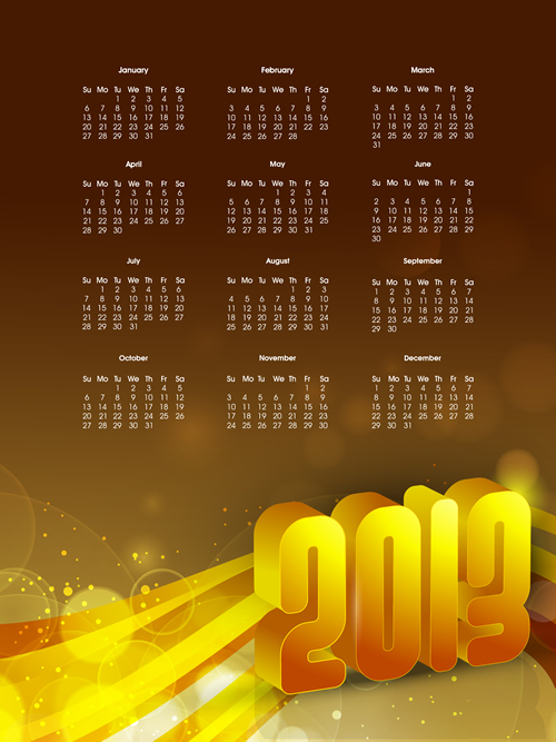 Calendar Grid 2013 141