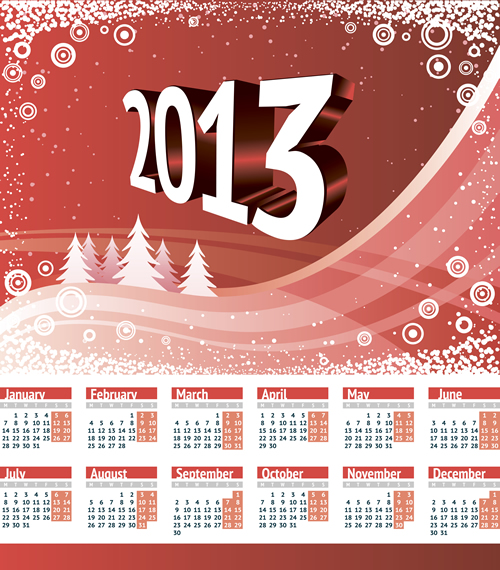 Calendar Grid 2013 146