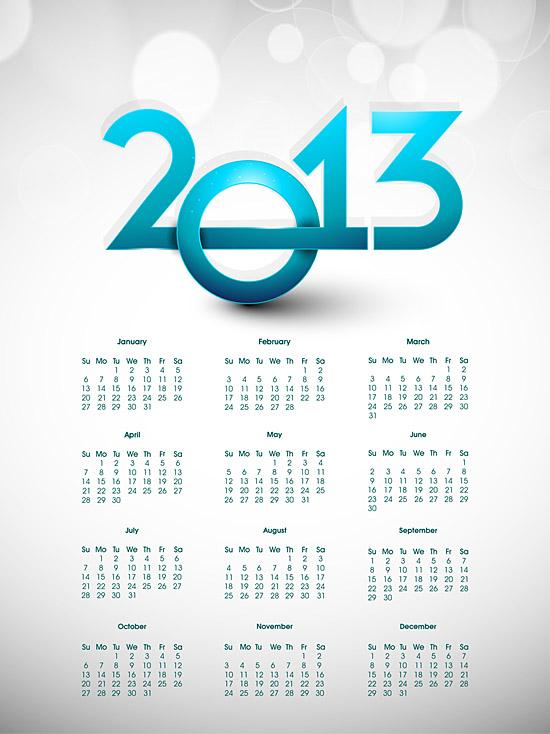 Calendar Grid 2013 147