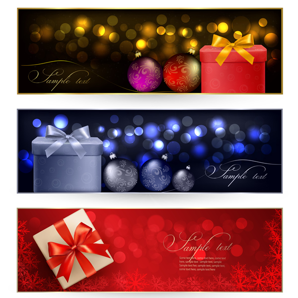 Christmas Banners & Cards 11