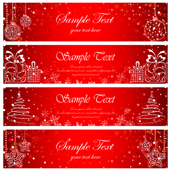 Christmas Banners & Cards 16