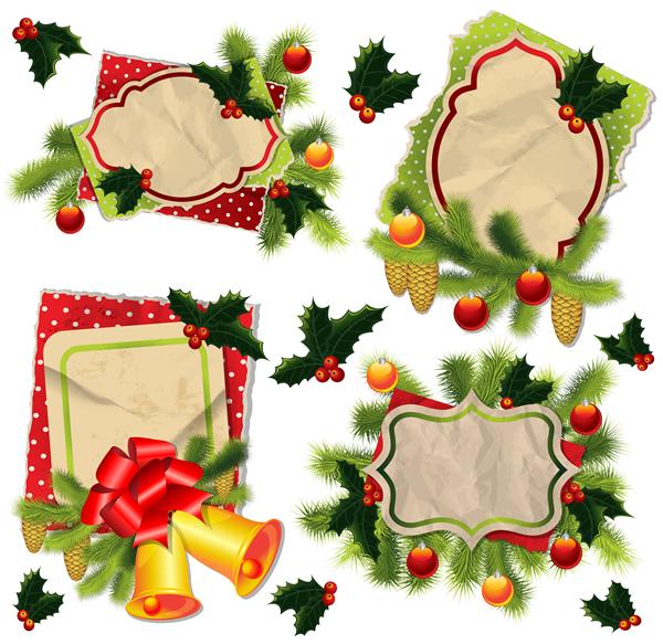 Christmas Labels & Design Elements 17
