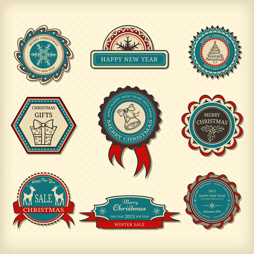 Christmas Labels & Design Elements 24