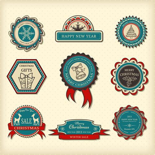 Christmas Labels & Design Elements 24