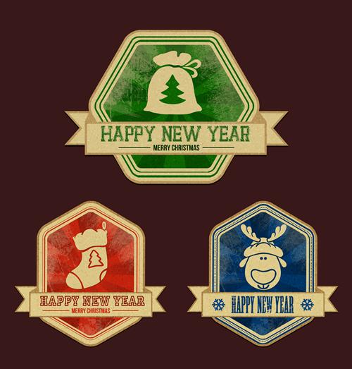 Christmas Labels & Design Elements 25