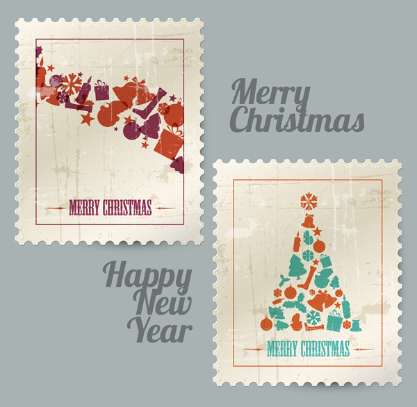 Christmas Labels & Design Elements 6