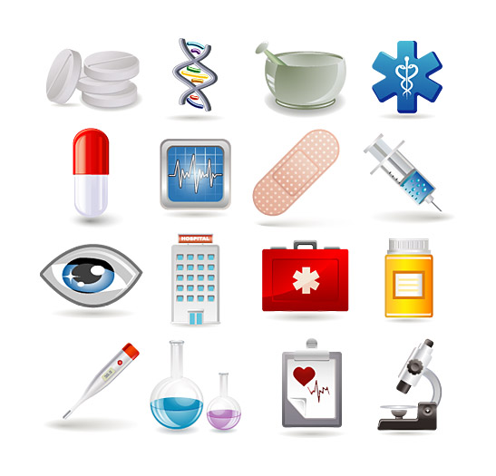 Medical Supplies Icons