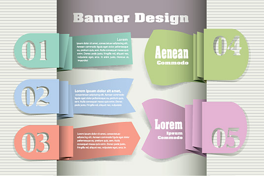 Original Modern Banner Design Strip 2
