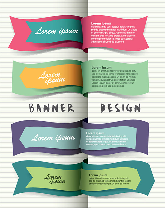 Original Modern Banner Design Strip 5