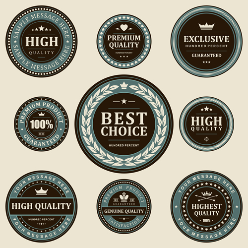 Premium Quality Labels 17