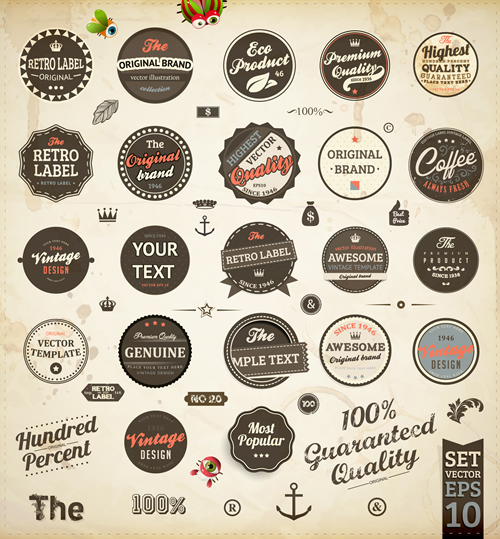 Premium Quality Labels 2