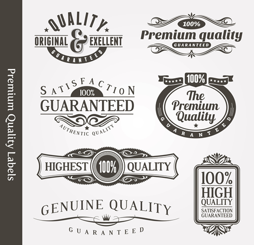 Premium Quality Labels 22
