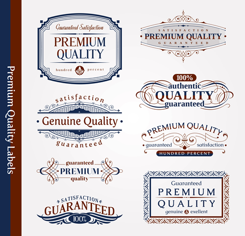 Premium Quality Labels 23