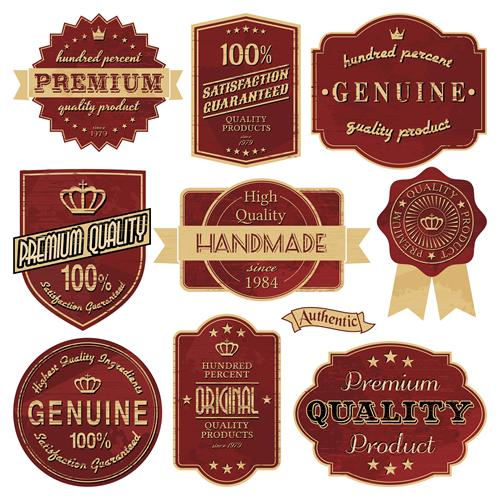 Premium Quality Labels 25
