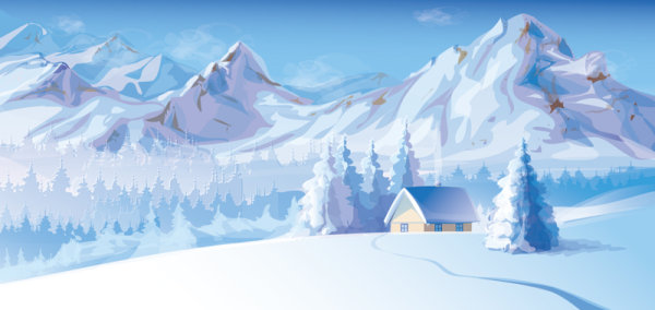 Winter Background 7