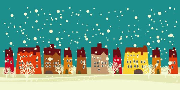 Winter Background 8