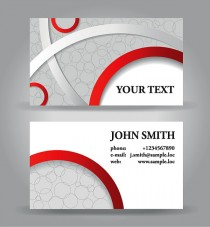 Business card ai free vector graphic download business card 28 reheart Choice Image