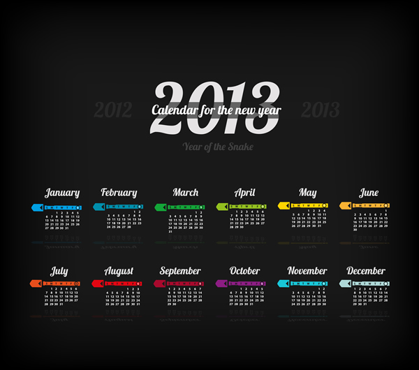 Calendar Grid 2013 156