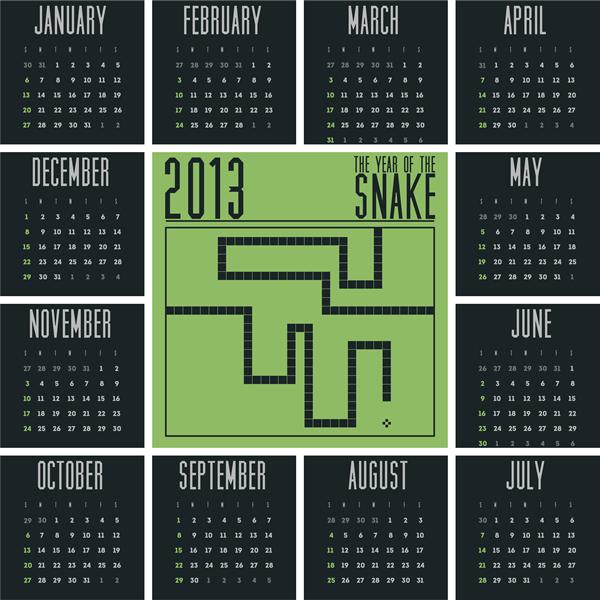 Calendar Grid 2013 158