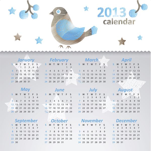 Calendar Grid 2013 164