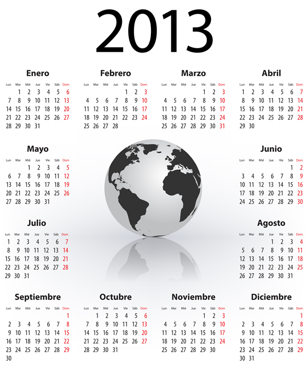 Calendar Grid 2013 165