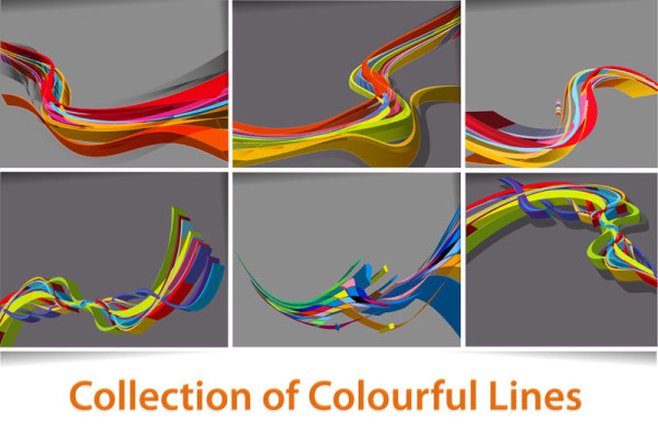 Collection of Colorful Lines