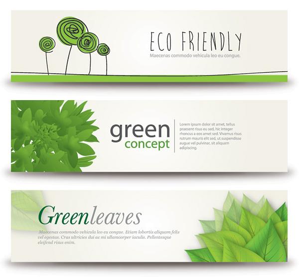 Green Concept Banner
